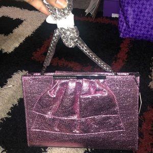 Christiano Siriano Glitter Crossbody Bag MSRP $125